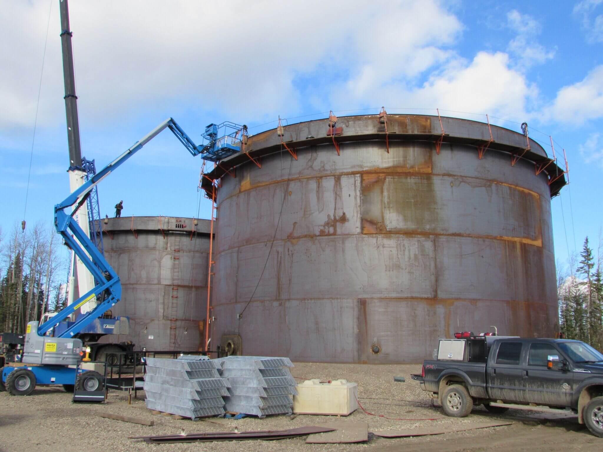 Field Tank Construction - Elite Integrity Services